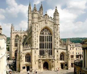 Modern day Bath Abbey