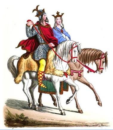 Judith and her 3rd husband Baldwin