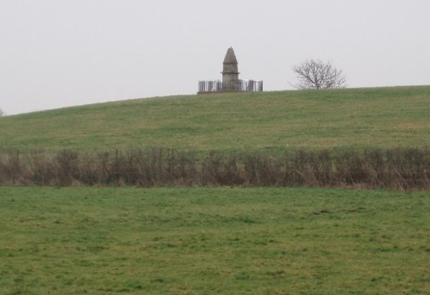 Alfred monument at Athelney
