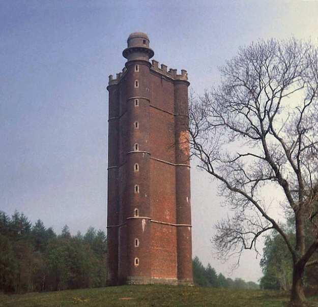 King Alfred's Tower (1772) on the supposed site of Egbert's Stone, the mustering place before the Battle of Edington.[17]