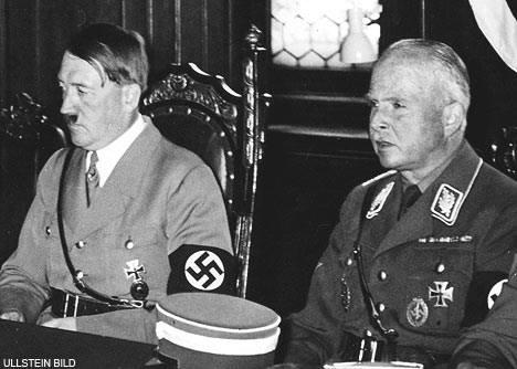 Charles Edward with Adolf Hitler